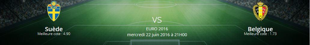 Le match Suède-Belgique sera une rencontre très disputée dans le groupe E de l'Euro 2016.